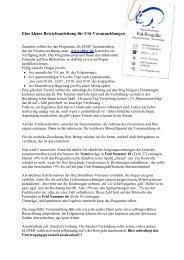 Eine kleine Betriebsanleitung für USt-Voranmeldungen