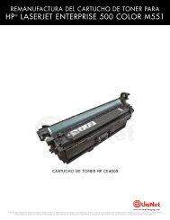 HP® LASERJET ENTERPRISE 500 COLOR M551 - Uninet Imaging