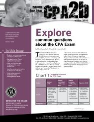 Explore common questions about the CPA Exam - WICPA
