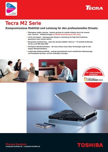 Tecra M2 Serie - Toshiba