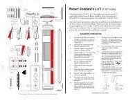 Goddard L-13 for silver paper - Niels papermodels