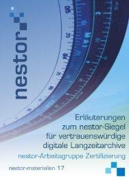Erläuterungen zum nestor-Siegel - Deutsche Nationalbibliothek