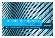 Restrukturierungsstudie 2010 - International (PDF ... - Roland Berger