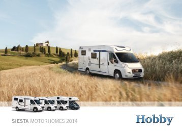 Full catalogue - Hobby Caravan