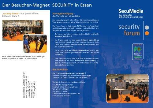 Flyer Security 2010 deutsch (DRUCK) •••.indd