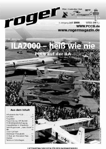 FSFlug - Roger - Luftfahrtnachrichten für Berlin und Brandenburg