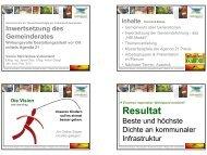 Präsentation Eltern-Kind-Bildung - Landentwicklung - Steiermark
