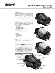 Bullard T3 Series Thermal Imager User Manual - blackwoodfire.org