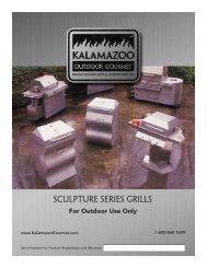 SCULPTURE Series Grills - Kalamazoo Outdoor Gourmet
