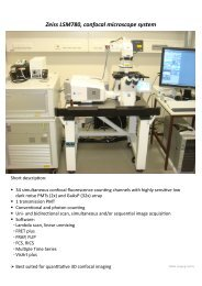 Zeiss LSM 780 confocal microscope - ZMBH