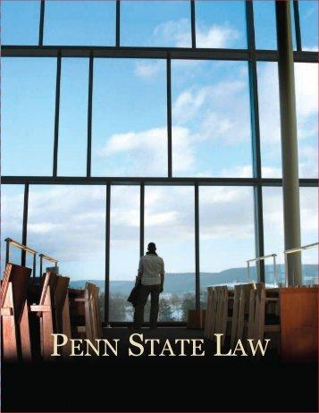 View a J.D. Bulletin - Penn State Law - Penn State University