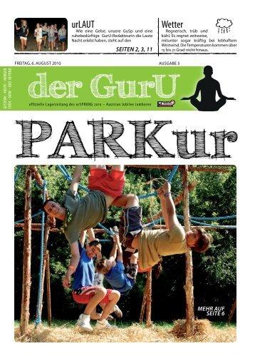 der GurU - urSPRUNG 2010 – Austrian Jubilee Jamboree