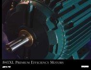 841XL PREMIUM EFFICIENCY MOTORS