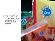 Elintarviketeollisuuden keskeinen asema [pdf, 872 kt] - MTK