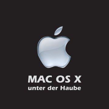MAX OS X unter der Haube - Scheib