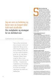 Download artiklen om en døvblind mor her (pdf)