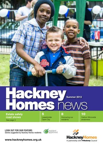 Hackney Homes News Summer 2013