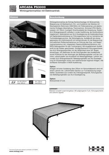 arcada PS3000 - Staufer.net