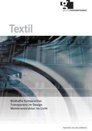 Textil_DE - Gasser Fassadentechnik AG