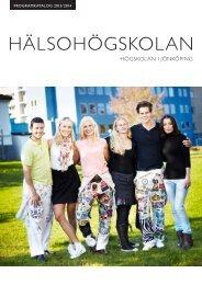 Ladda ner utbildningskatalogen - Högskolan i Jönköping