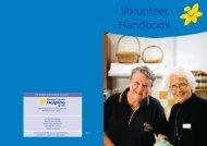 Volunteer Handbook - Cancer Council Western Australia