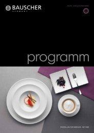 Katalog Gastronomie - Bauscher