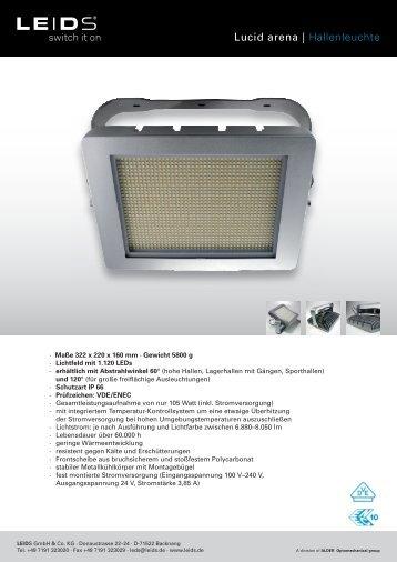 Produktblatt - PSL AG