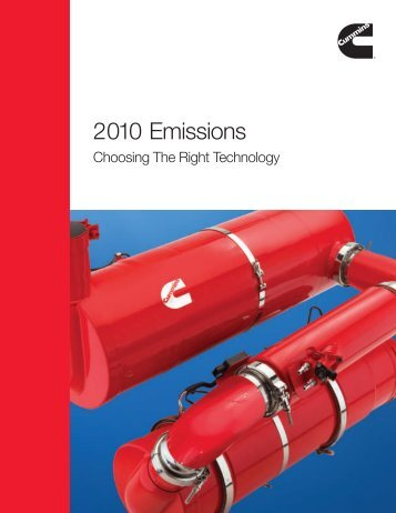 2010 Emissions - Cummins Engines