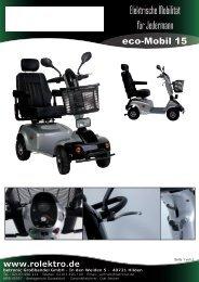 eco-Mobil 15 - Rolektro
