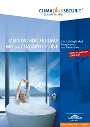 MEIN WOHLFÜHLKLIMA MITSGG CLIMAPLUS® ONE - glassolutions