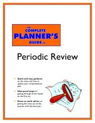 The Complete Planner's Guide to Periodic Review - State of Oregon
