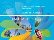 EXPO 2017 in Astana –Future Energy - AHK Zentralasien