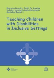 Teaching children with disabilities in inclusive settings; 2009
