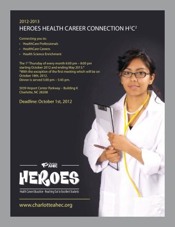 HEROES HEALTH CAREER CONNECTION H2C2 2012-2013 www ...