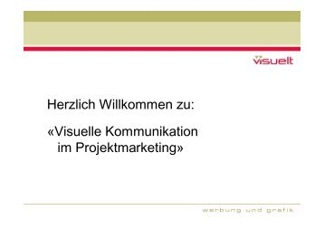 Visuelle Kommunikation im Projektmarketing