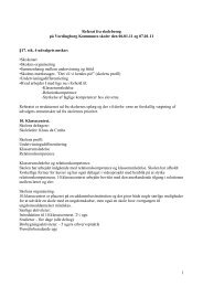 Referat fra skolebesøg på Vordingborg Kommunes skoler 6.