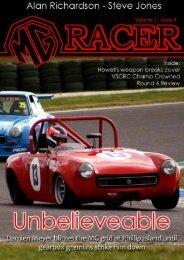Issue #4 - MG Racing