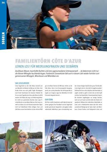 FAMILIENTÖRN CôTE D'AZUR - Windbeutel Reisen
