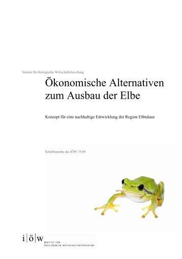 IOEW SR 075 Ökonomische Alternativen zum Ausbau E..., pages 1 ...
