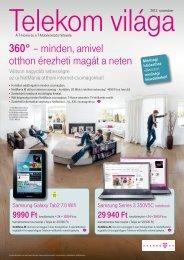 Telekom világa 2012. november - T-Mobile