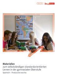 Materialien zum selbstständigen standardorientierten Lernen in der ...
