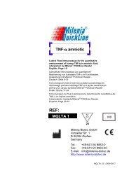 Arbeitsanleitung - Milenia Biotec GmbH