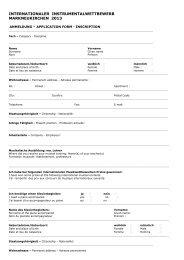 Anmeldeformular 2013 (pdf) - Internationaler ...
