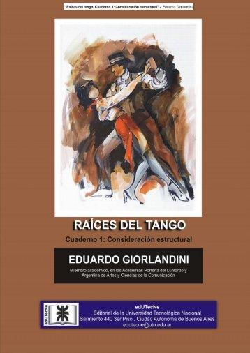 Raices del tango - edUTecNe