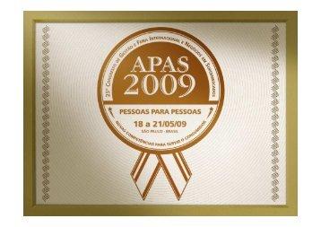 """Pesquisa """"Retratos do Varejo"""" 2009 - Apas"""