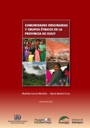 comunidades originarias y grupos étnicos de la provincia de jujuy