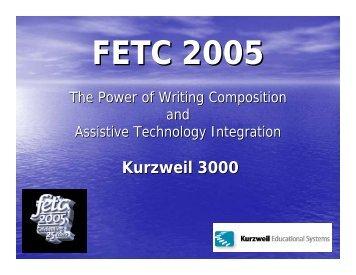 Kurzweil 3000 - Kurzweil Educational Systems