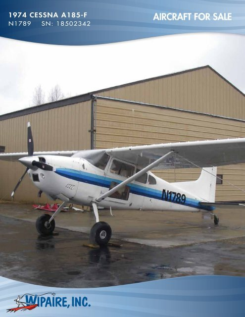 AIRCRAFT FOR SALE - Barnstormers
