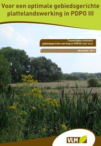 Lees het rapport hier. - Vlaamse Landmaatschappij