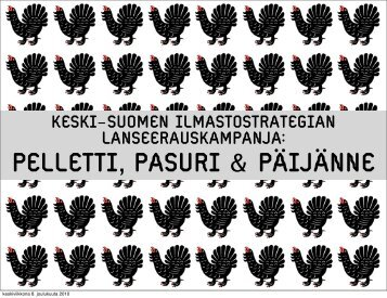 PELLETTI, PASURI & PÄIJÄNNE - Peloton